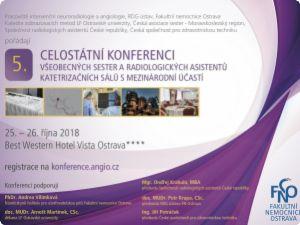 Celostátní konference všeobecných sester a radiologických asistentů katetrizačních sálů