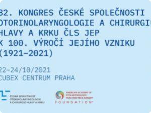 82. kongres České společnosti otorinolaryngologie a chirurgie hlavy a krku ČLS JEP