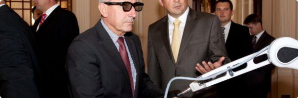 Na Žofíně se představila revoluční novinka v laparoskopii