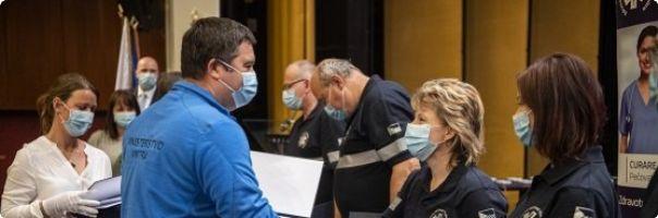Ministr vnitra ocenil zdravotníky ZZMV